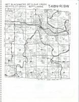 Blackwater, Pilot Grove, Lamine, Clear Creek T48N-R19W, Cooper County 1978